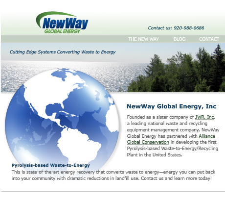 NewWay Global Energy, Johnson Creek, WI
