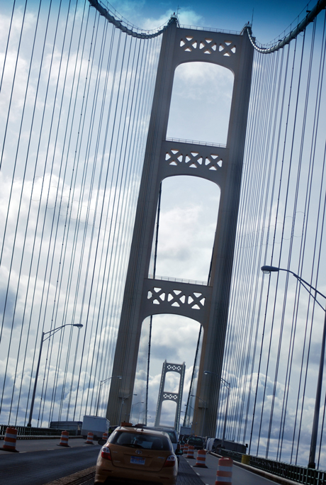 Michigan's Mackinac Bridge