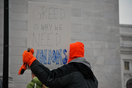 greed is why we need unions