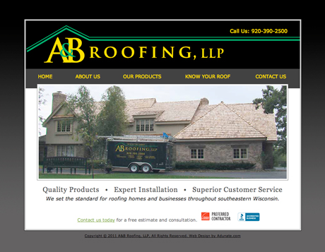 A&B Roofing, Wisconsin