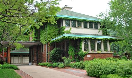 Prairie-style home, Milwaukee, WI