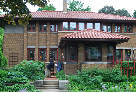 Arts & Craft home, Prairie-style, Milwaukee, WI