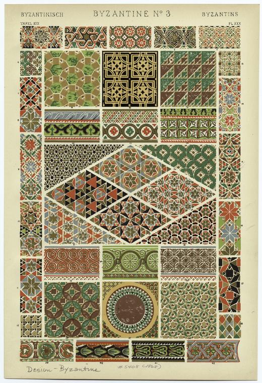 Owen Jones Grammar of Ornament