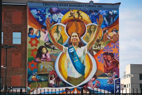 Creative Book Manufacturing, Philadelphia Murals