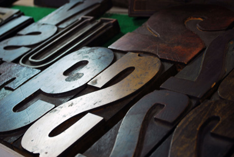 Letterpress blocks, Hamilton Wood Type & Museum