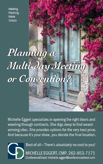 Michelle Eggert, ConferenceDirect, ad in National Gardener Magazine