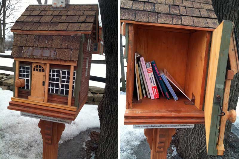 Little Free Library, Mineral Point Blvd., Madison, WI