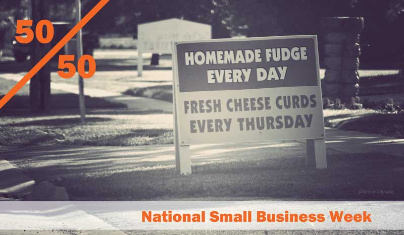 50th anniversary of National Small Business Week