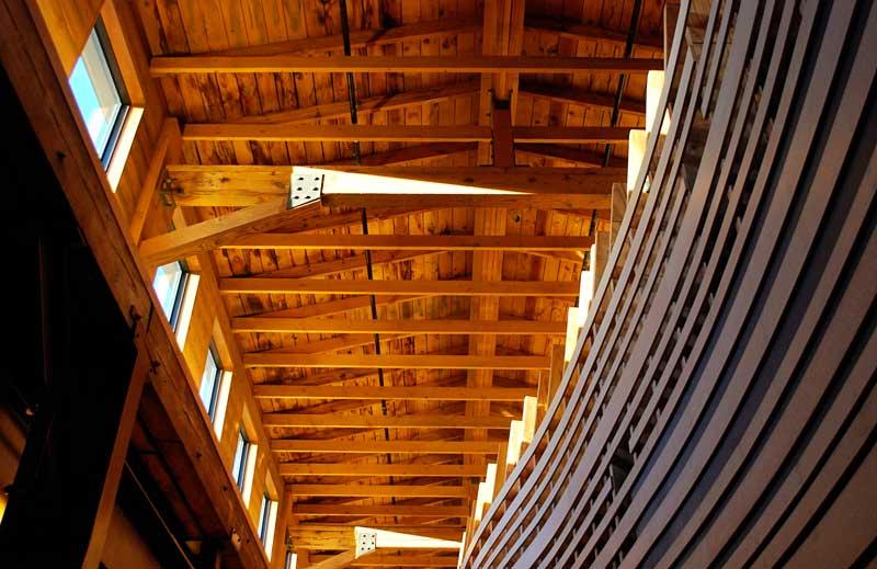 Inside the Goodman Community Center, Madison, WI