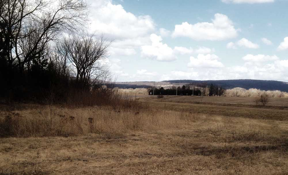 Sauk County, WIsconsin in spring