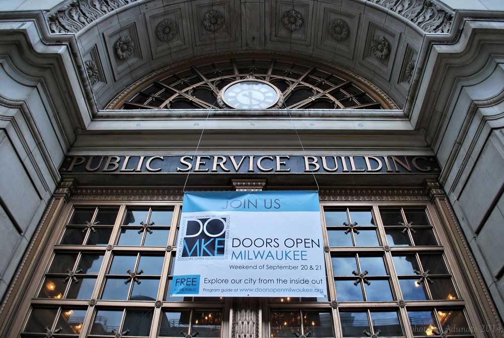 Public Service Building, Doors Open Milwaukee