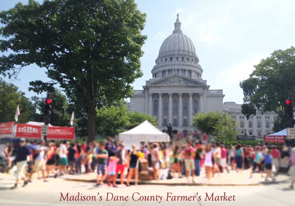 Dane County Farmers Market, Madison, WI