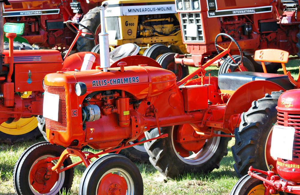 Tractors at Fermentation Fest