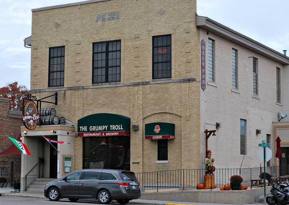 Grumpy Troll Brew Pub, Mount Horeb, Wisconsin