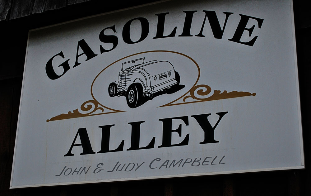 Gasoline Alley, Fountain City, WI