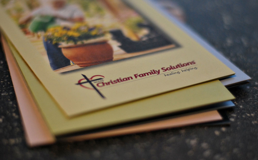 Brochures for WLCFS Christian Family Solutions