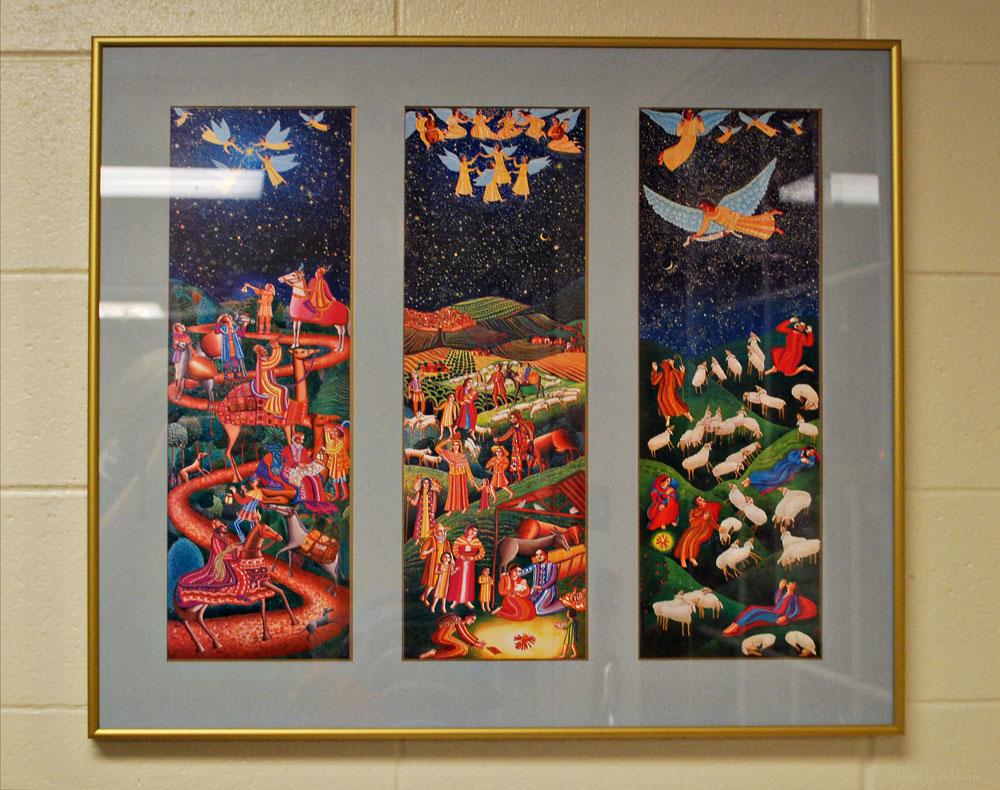 Artwork displayed by Risen Savior Lutheran School, Milwaukee, WI