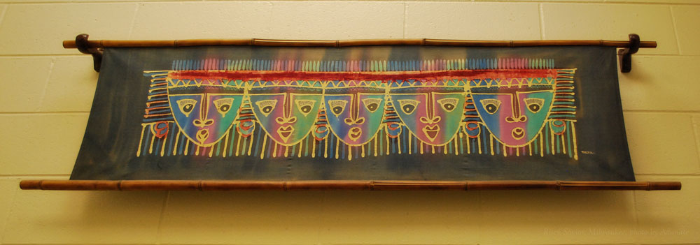 Artwork on display at Risen Savior Lutheran School, Milwaukee, WI