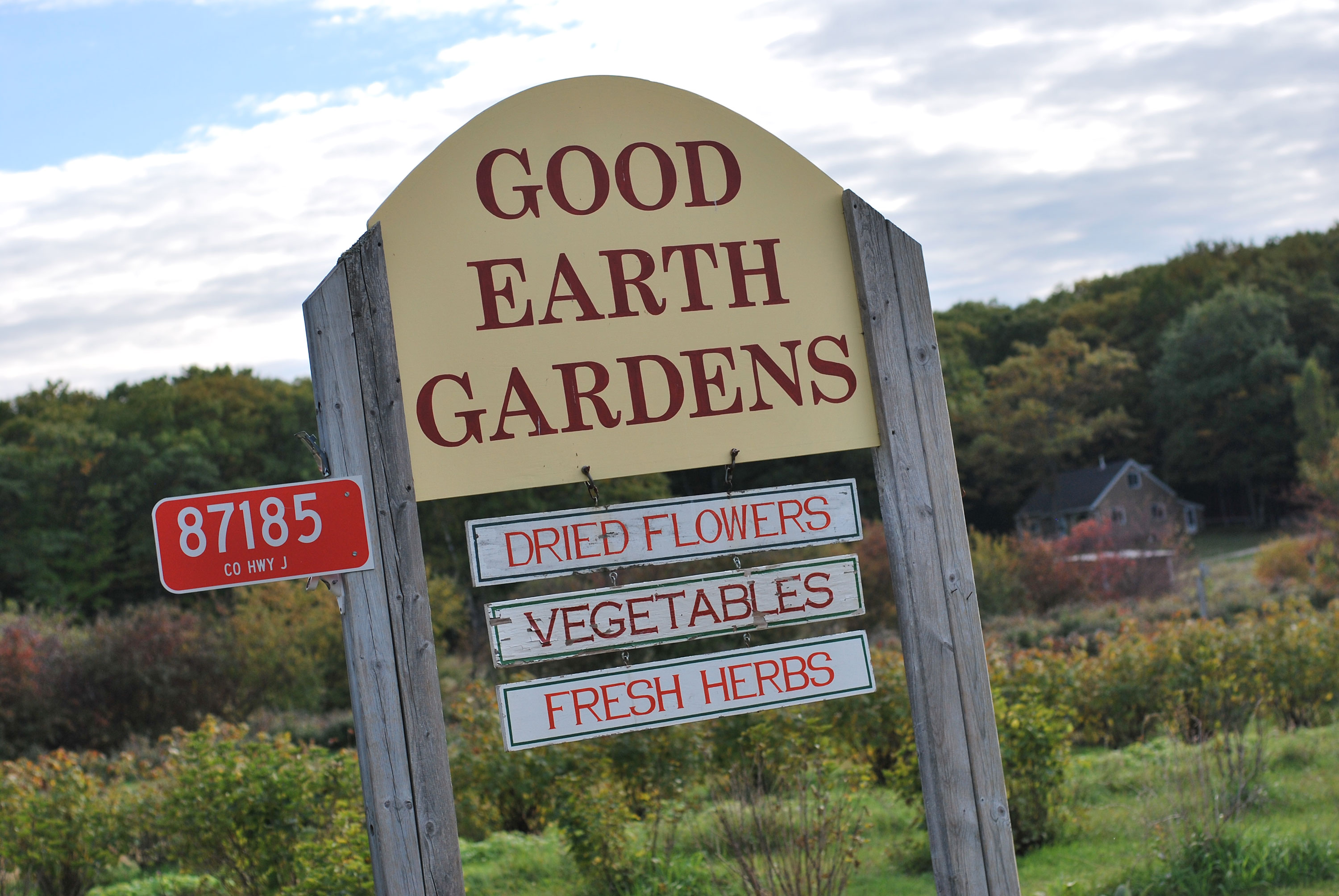 Good Earth Gardens, Bayfield, WI