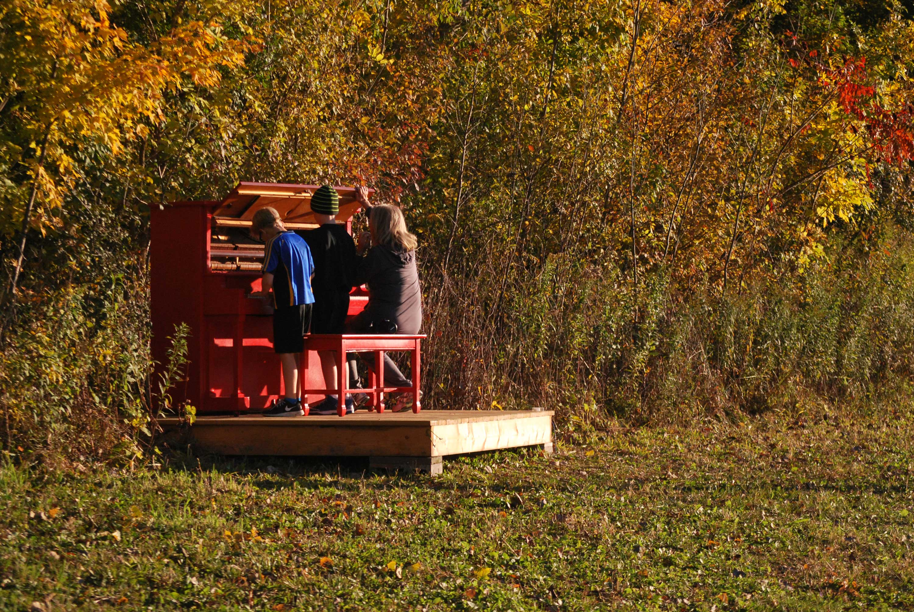 Red Piano, Fermentation Fest, Reedsburg, WI