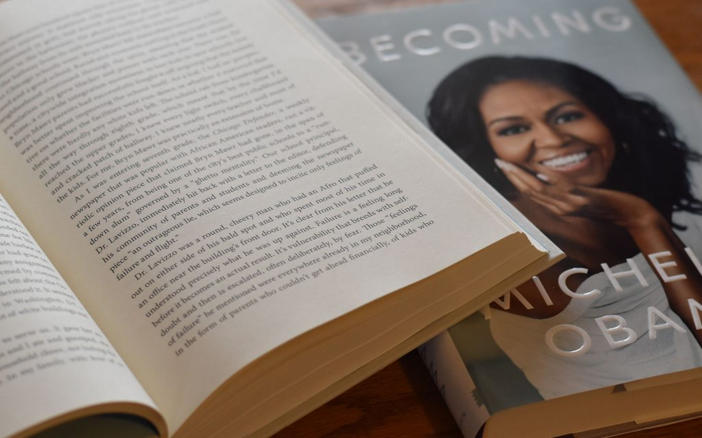 Excerpt from Becoming, by Michelle Obama