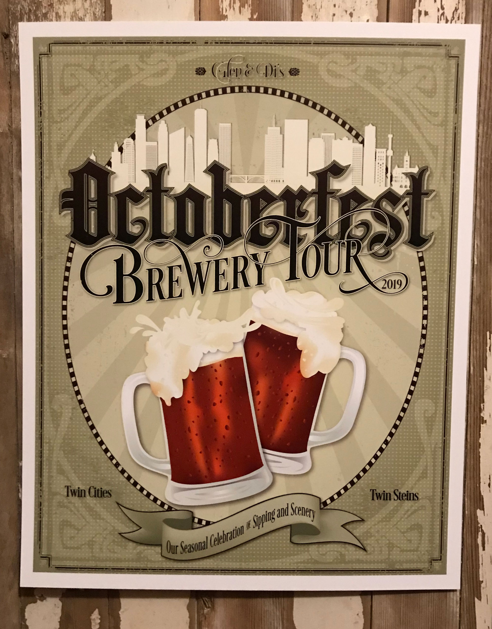Octoberfest Beer poster by Adunate 2019
